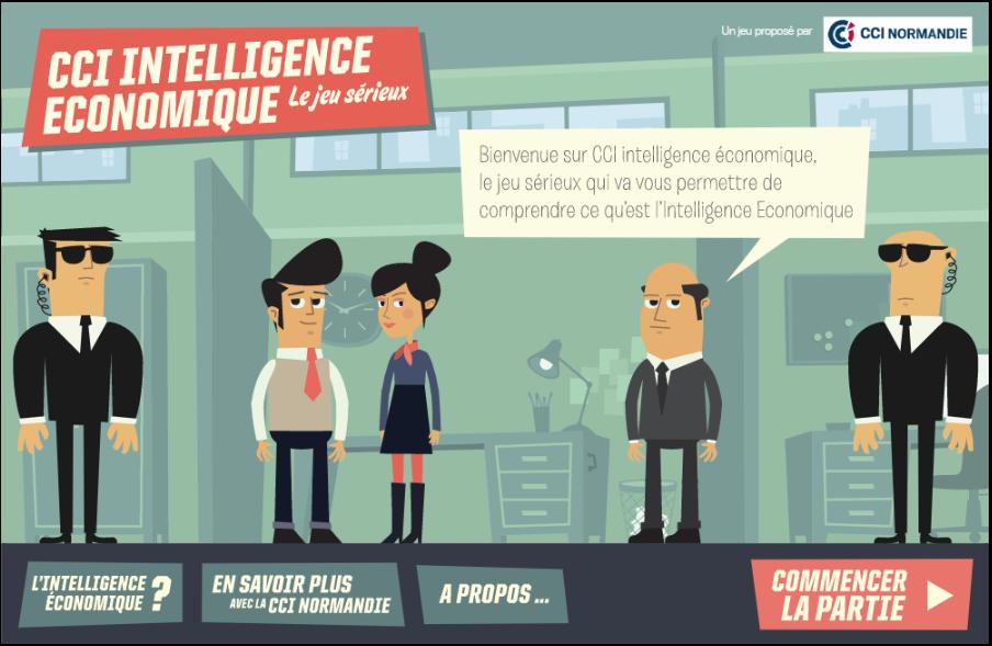 Un jeu sérieux sur l'intelligence économique