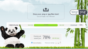 Tinypng is a webservice to reduce image files size
