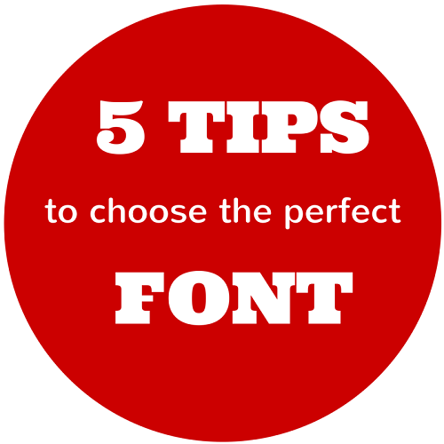 5 tips to choose the perfect font for your website