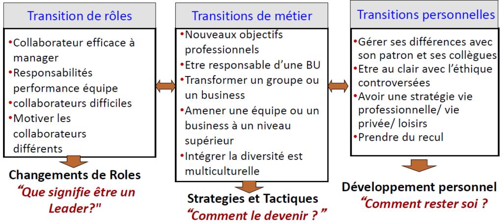 Le leadership de transition
