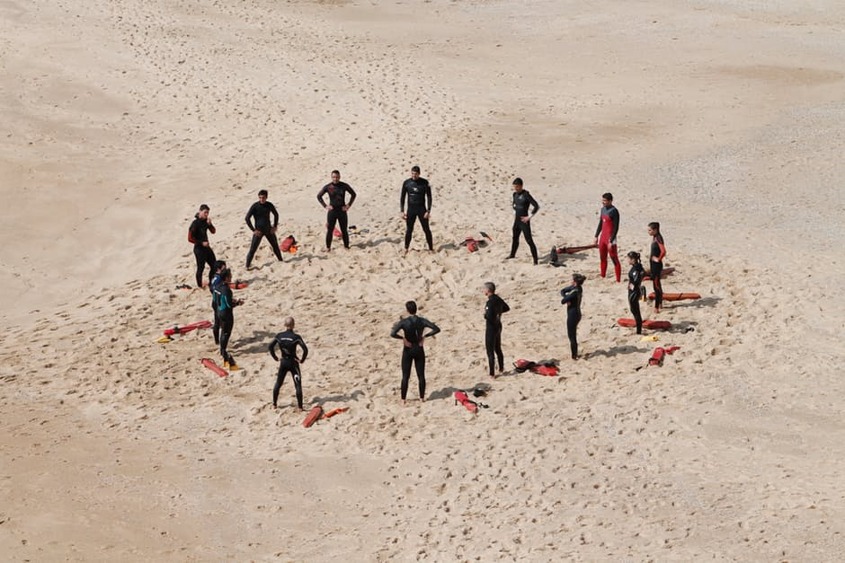 Self-organized team