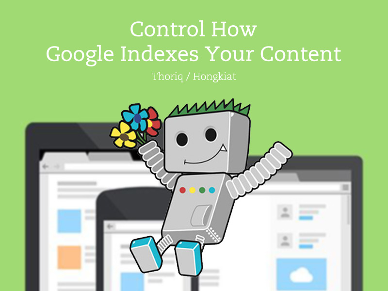 Control how Google indexes your content with metatags