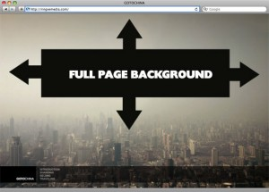 Example of a fullpage background