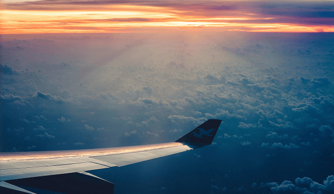 A successful Customer Experience like an airflight