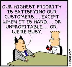 Dilbert customer satisfaction
